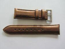 Genuine D & G Dolce & Gabbana Watch Strap Leather Golden Brown Lug 22mm  NOS
