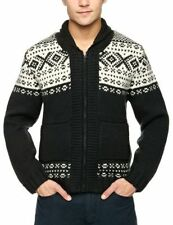 Men's Medium Knit Fair Isle, Nordic Wool Jumpers & Cardigans