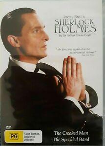 SHERLOCK HOLMES : THE CROOKED MAN DVD (PAL) FREE POST