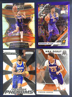 2019-20 Select #70 Devin Booker Silver Prizm 4 Card lot Ayton /29 Optic Rookie