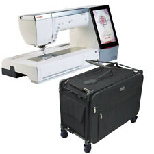 Janome MC15000QM Quilt Maker + BLACK Tutto Trolley Bag COMBO!