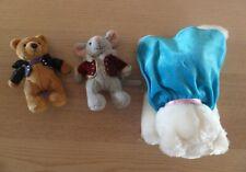 Alfred Music Beethoven Bear, Mozart Mouse, Clara Schumann Cat plush