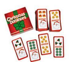 Christmas Mini Cardboard Dominoes Boxed