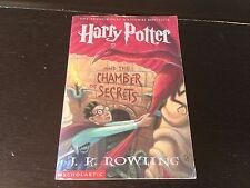 Harry Potter and the Chamber of Secrets J.K. Rowling 1st Printing 1st Edition PB