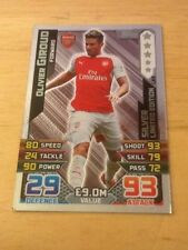 Arsenal Football Trading Cards 2015-2016 Season