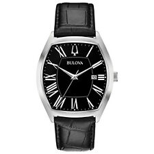 Bulova Men's Classic Collection Ambassador Quartz Black 44.5mm Watch 96B290