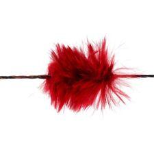 1 Paar Bearpaw Funny Puff Rot Sehnengeräuschdämpfer Silencer Srtingwhisperer