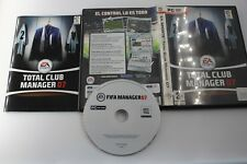 PC TOTAL CLUB MANAGER 07 COMPLETO PAL ESPAÑA