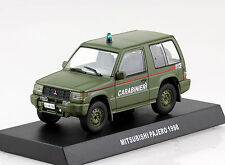 Mitsubishi Pajero Carabinieri Polizei oliv 1998 1:43  Modellauto