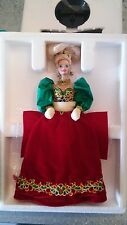 Barbie in porcellana Holiday Jevel 1995 nrfb numero di serie 04054
