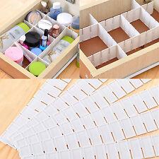 6Stk DIY Schubladeneinteiler Schubladenteiler Fachteiler Lagerung Teller FS