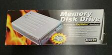 Playstation 1 Memory Disk Drive Floppy Disk Drive Storage System Complete In Box