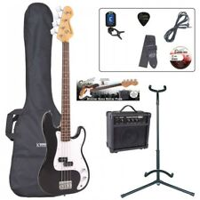 E4 Blaster Series Bass Guitar Outfit - Black