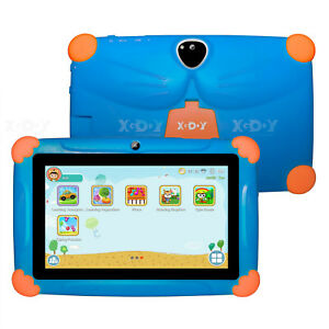 XGODY Android 8.1 7 inch Kids Tablet PC 1+16GB Quad Core GPS Dual Camera WIFI HD