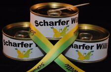 Scharfer Willi in der Dose // 10 Dosen Williams Christ Birne Schnaps