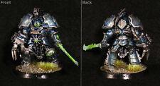 Warhammer 40k Painted Chaos Space Marines Chaos Lord Terminator Alpha Legion