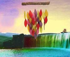 Fiesta Waterfall Wind Chime Blue Handworks