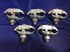 "New* Lot/10* Sci, Beam Clamp, 3/4"", Galvanized Pipe"
