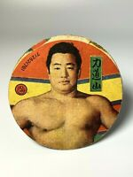 Mega rare Vintage Japan Pro Wrestling Card Rikidozan card menko No.2