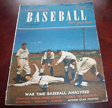 Street and Smith's Yearbook Baseball 1945 cover  New York Giants