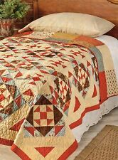 Diamonds In The Rough Quilt Pattern Pieced HD