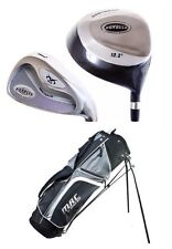 Limited Edition Voit Golf Full Set 12 Clubs Driver 3,5 Woods 3-sw FREE STAND BAG