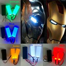 DIY LED Light Eyes Kits for 1:1 Iron Man Helmet Eye Light Mask Halloween Cosplay