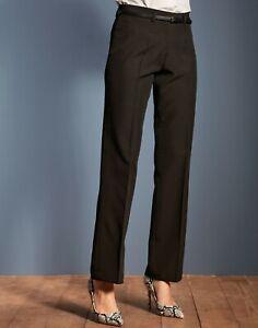 530 Premier Ladies Black Polyester Trousers Size 20 Reg