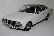 Opel Rekord C Coupe 1966 weiß/blau Resin 1:18 Minichamps neu + OVP 107047021
