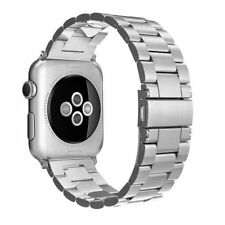 Simpeak Stainless Steel Band Strap for Apple Watch 42mm Series 1 & 2 - Silver