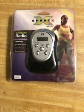 Sport X Armband Radio AM/FM Dynamic Bass Boost By GPX