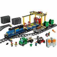 New Train City Lego 60052 Cargo 7939 60098 3677 Car Building Blocks branded DHL
