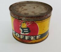 Vintage Queen Bee Coffee Tin Can