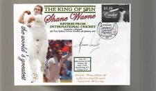 SHANE WARNE 'THE KING OF SPIN' FINAL TEST CRICKET COV 5