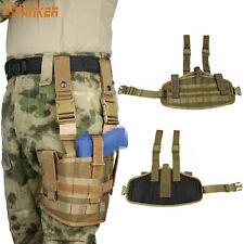 Tactical Military Airsoft Molle Versatile Drop Leg  Pouch Pistol Gun Holster Bag