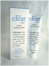 NEW! Philosophy ON A CLEAR DAY Retinol Clarifying Lotion FULL SIZE .75 oz / 21 g