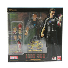 SHF Marvel Hero Iron Man 3 Tony Stark Powered Stage Toy Action Figure Model Toy