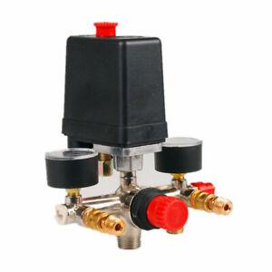 Druckschalter Ventil Montage Luftkompressor Pumpe Kontrolle Krümmer ErsatzTeile