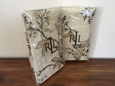Ralph Lauren Plage d'Or Floral Standard Pillow Shams Pair