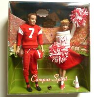 BARBIE COLLECTOR MY FAVORITE COUPLE REPRO CAMPUS SPIRIT NFRB