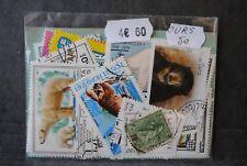 Animaux, Ours, 50 timbres thématiques, tous différents