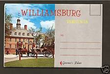 COLONIAL WILLIAMSBURG ACCORDIAN-STYLE VIEW FOLDER *
