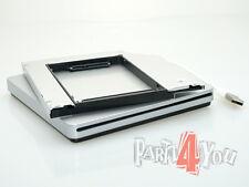 Externes USB SuperDrive Gehäuse + zweite HD-Caddy 2nd HDD SSD Apple MacBook Pro