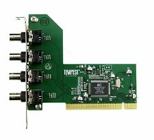Conexant 878A -  4 CHANNEL VIDEO CAPTURE CARD, ANALOG,  ZONEMINDER, PCI,PAL/NTSC