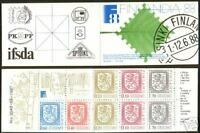 Slot-Machine Booklet 13 Coat Of Arms Finland MNH 1987