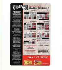 2008-09 Grand Rapids Griffins AHL Detroit Red Wings Cole's team magnet schedule