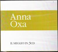 3 CD ♪ Box Cofanetto ANNA OXA • IL MEGLIO • THE BEST • SUCCESSI nuovo sigillato