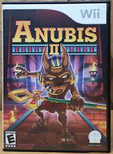 Anubis II (2) (Nintendo Wii, 2005, Conspiracy) *Complete E