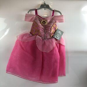 Disney Store Princess Aurora toddler girl dress sleeping beauty 3
