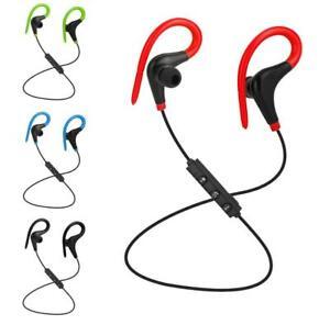 Sweatproof Wireless Bluetooth 5.0 Headphones Sport Gym Earphones for Samsung IOS